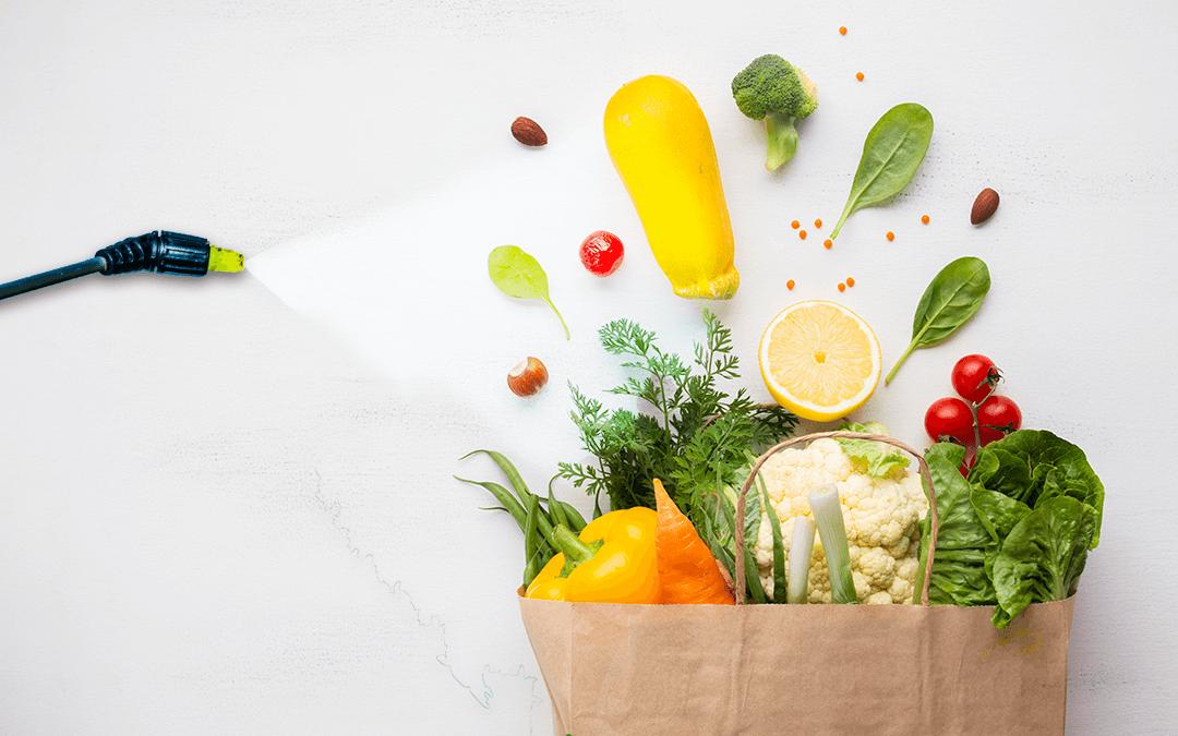 Residuos de agroquímicos se encuentran en el 65% de los alimentos consumidos